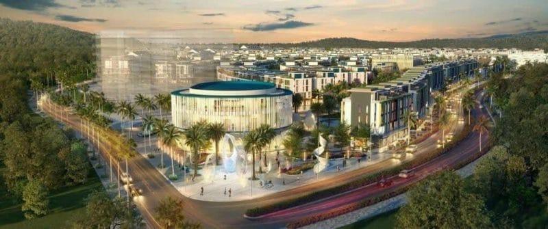 Trung tâm tiện ích Meyhomes Capital Phú Quốc
