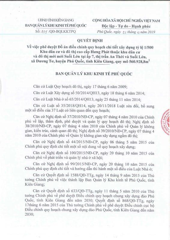 Giấy phép 1.500 Meyhomes Phú Quốc